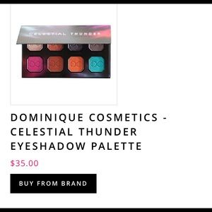 Celestial Thunder Eyeshadow Pallete